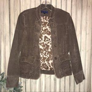 Boden Light Brown Corduroy Jacket